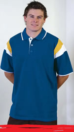 250GM TIGER STRIPE RUGBY POLO