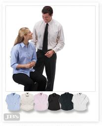 SH511 – Mens Long Sleeve Polyester Cotton Shirtlong Sleeve