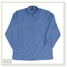 JENI B Indigo Shirt L/S