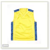 Podium Kids & Adults Team Basketball Singlet Yellow/ Royal Kids