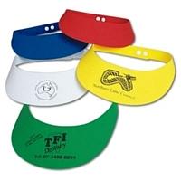 LL1822s E.V.A. Foam Adjustable Visors (QTY) 250 One Colour Prin