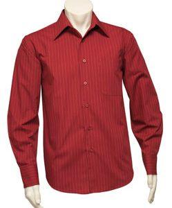 SH840 – Mens Long Sleeve Manhattan Stripe Shirt