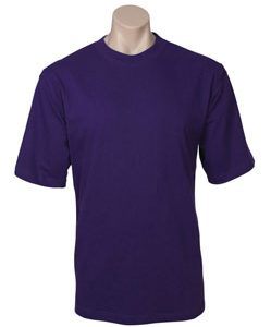 Adults Combed Cotton Jersey T-Shirt- Colours