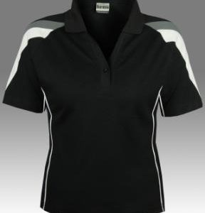YCB01L (Ladies) YarnCoolDry Cotton Back Tri-Color Polo With Pipi