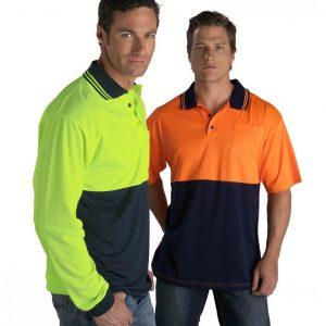 Fluoro Short Sleeve Polo
