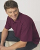 Adults Pique Knit Polo