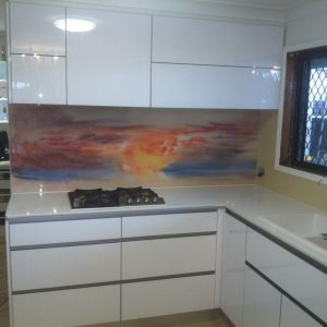 Printed Splash Back